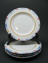 Fitz & Floyd Habitat Americana Regatta Salad Plates SET of 4  measures 7... - $33.95
