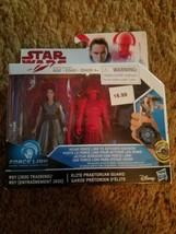 "Star Wars Rey & Elite Praetorian Guard 3.75"" figures Hasbro/Disney  - $16.99"
