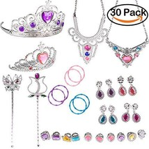 WATINC Princess Pretend Jewelry Toy Girl's Easter Tiara Dress Up Play Se... - $11.45