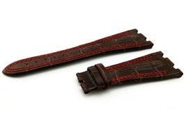 28mm Brown/Red Real Leather Watch Strap For Audemars Piguet Royal Oak Offshore - $41.94