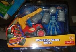 Fisher-Price Nickelodeon Blaze & the Monster Machines Wrecking Crane Blaze [New] - $29.65
