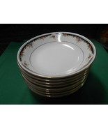 "Beautiful LYNNS Fine China ""Bennington""  Set of 8 SOUP BOWLS 7.25"" - $44.14"