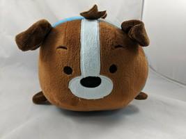 "Bun Bun Brown Pup Pup Dog Plush Puppy 10"" Long 2014 Stuffed Animal toy - $6.95"