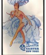 MC-202 - Latin Quarter, New York, Diamond Fair Program, E.M. Loew, Risqu... - $39.20