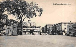 Bank Square Woolworth Store Laconia New Hampshire postcard - $6.93