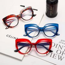 Cat Eye Anti Blue Light Optical Glasses Women Men Vintage Clear Glasses Eyeglass image 6