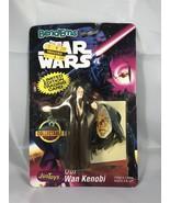 Star Wars Bend-Ems Obi-Wan Kenobi Figure by JusToys - $9.46