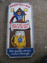 PABST Since 1844 One if by land two if by sea,COOL BLUE PABST BLUE RIBBO... - $118.75