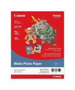 "Canon Photo Paper - 50 per pack - 8.5"" x 11"" - Matte - $14.52"