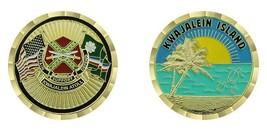 "ARMY USAKA KWAJALEIN ISLAND ATOLL 1.75"" CHALLENGE COIN - $17.14"