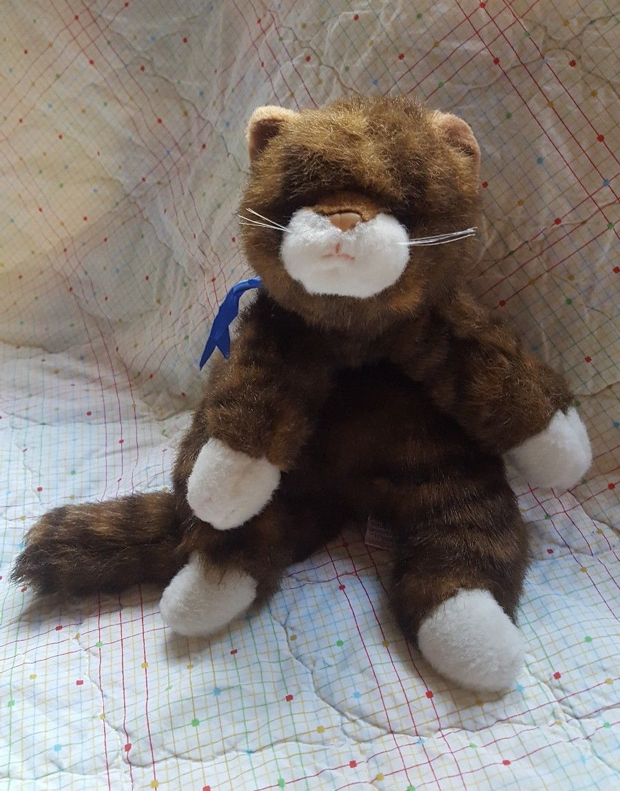 Ty 1997 Brown Striped Pet Cat Toy Kids Play And 43 Similar Items