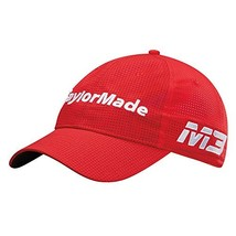TaylorMade Golf 2018 Men's Litetech Tour Hat, Red, One Size - $15.08