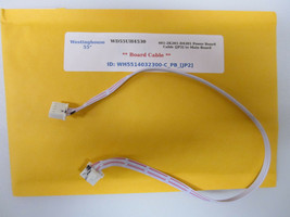 "Westinghouse 55"" WD55UH4530 401-2K201-D4201 Power Board Cable [JP2] to M... - $14.95"
