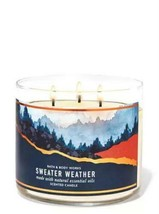 Sweater Weather Three Wick Scented Candle- Bath and Body Works - $16.00
