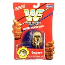 Goldust WWF 1997 Playmates Toys Ringmasters WWE Mini Figure Sealed - $7.87