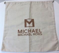 "Michael Kors MK Dust Bag Cover Canvas Cloth Storage 18.5"" x18.5"" Drawstring - $19.79"