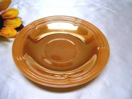 1077-1 Antique Three Bands Lustreware Fire King Saucer - $3.50