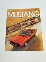 Ford Mustang 1981 Brochure Original Sales Literature New Unread - $24.99