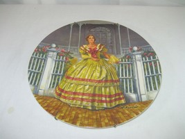 Gone With The Wind Collector Plate Melanie Signed 1980 Limited Edition K... - $12.82