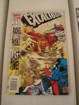 Excalibur #74 and 75 Original Marvel Comic Books from 1994 NM Condition ... - $2.72