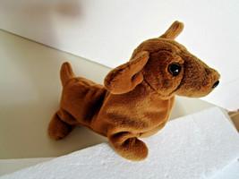 TY Beanie Babies WEENIE DACHSHUND DOG PLUSH Stuffed Animal TOY  1995 NEW... - $5.59