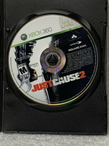 Primary image for Just Cause 2 (Microsoft Xbox 360, 2010) Disc Only With Generic Case