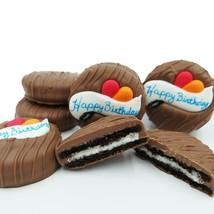 Philadelphia Candies Milk Chocolate Covered OREO® Cookies, Happy Birthda... - $14.80