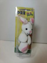PEZ Petz Hippity Hoppities White Bunny Rabbit with Clip Collectible - $6.99