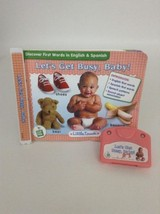 Leap Frog LITTLE TOUCH Let's get Busy, Baby! Book Cartridge 6 mo+ - $7.08