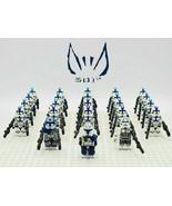 Star Wars 501st Legion Captain Rex Jesse Echo 23pcs/set Minifigures Buil... - $33.50