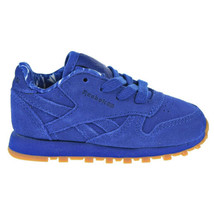 Reebok CL Leather TD Toddler Shoes Collegiate Royal/White BD5158 - $31.95