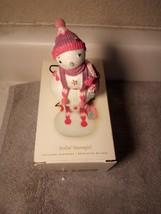 HALLMARK STYLIN' SNOWGIRL-- CHRISTMAS ORNAMENT--SNOWMAN-2008---FREE SHIP... - $17.27