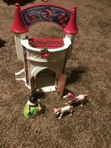 2009 Playmobil #4777 Take Along Princess Fairy Tale Unicorn Playset Castle - $24.74