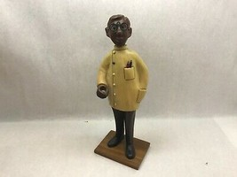 Vintage ROMER Attributed DENTIST STATUE Figurine MADE IN ITALY - $69.29