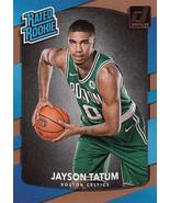 Jayson Tatum 2017-18 Donruss Rated Rookie Card #198 - $3.00