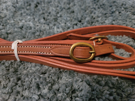 """3/4"""" Harness Leather Buckle Reins NEW  image 1"""
