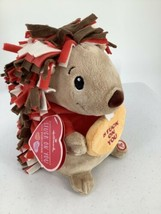 "Hallmark Animated Porcupine Sings Stuck On You Spins Plush 10"" 2015 - $16.82"