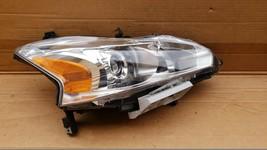 13-15 Nissan Altima Sedan Halogen Headlight Lamp Passenger Right RH image 1