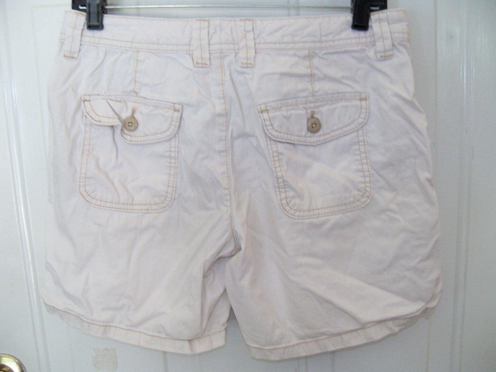 RALPH LAUREN POLO JEANS Light Tan Shorts Size 2 Women's EUC
