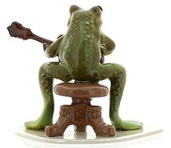 Hagen-Renaker Specialties Froggie Mountain Breakdown Bluegrass Frog Mandolin  image 4
