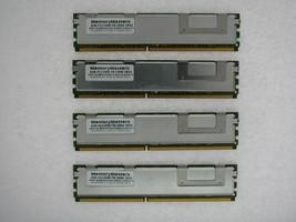 16GB KIT 4X4GB Compaq ProLiant 3 20GHz G5 DL580 G5 ML150 G3 ML350 G5 RAM MEMORY