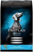 Purina Pro Plan Large Breed Dry Puppy Food, FOCUS Chicken & Rice Formula... - $61.82