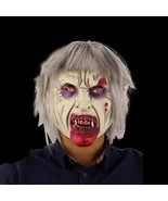 Old Scary Vampire Bloody Mask For Halloween Party Costume Props Full Fac... - $19.89