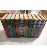 Collier Junior Classics The Young Folks Shelf of Books 1960 HC Vol 1-10 ... - $43.20