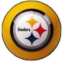 Pittsburgh Steelers Yellow Nfl Billiard Game Pool Table Replacement Cue 8 Ball - $19.95