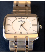 Viceroy  47279 Analog Quartz Men's Wristwatch  All Steel White Face Cale... - $99.95
