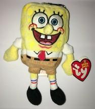 Ty Beanie Babies Spongebob Squarepants Keychain Backpack Plush - $12.99