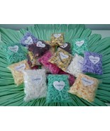 Set of 30 confetti bags,Wedding Confetti Throwing Bags,Tissue paper, Ros... - $28.94