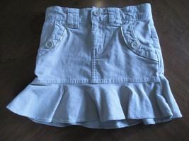 Gap Kid's Stretch Girl's Size 4 Beige Corduroy Skirt - $20.80