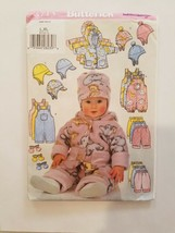 Sewing Pattern Baby Girls Toddlers Clothing Sizes L-XL Butterick Brand #... - $7.70